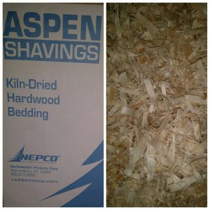 Shredded KILN DRIED Aspen